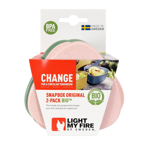 Light My Fire SnapBox Original BIO (2-pack)