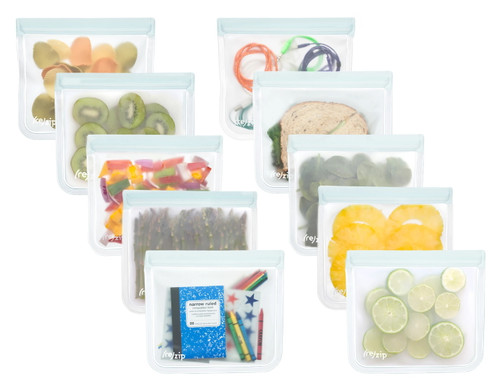 (re)zip Leakproof Lay-Flat 10-Piece Lunch Family Pack