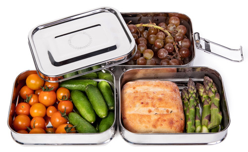 Life Without Waste Stainless Steel Lunchbox (3-Tier)