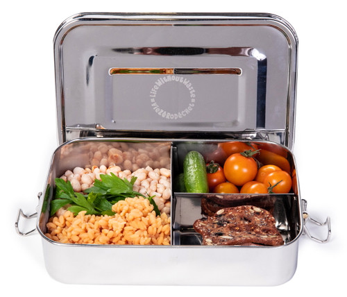Life Without Waste Stainless Steel Bento Lunchbox