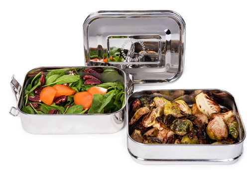 Life Without Waste Stainless Steel Lunchbox (2-Tier)