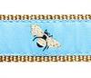Sky Blue Bumblebee Dog Collars