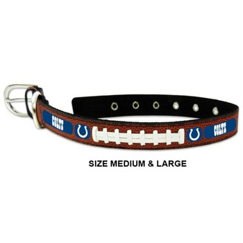 Indianapolis Colts Classic Leather Football Collar
