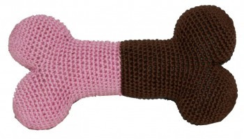 Pink Bone - The Original, Organic Cotton  Dental Toy