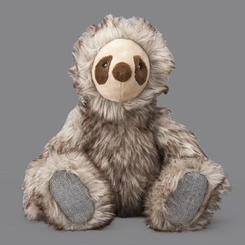 My BFF Long Hair Sloth Dog Toy