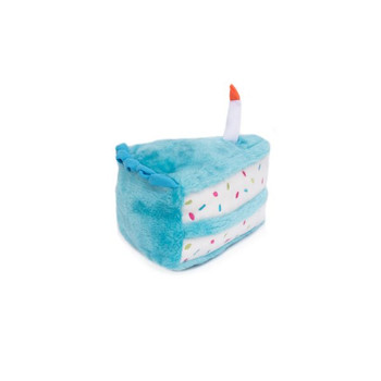 Birthday Cake Pet Dog Toy - Blue