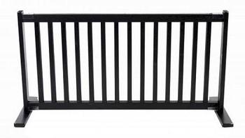 Free Standing Pet Gate - Large/Black