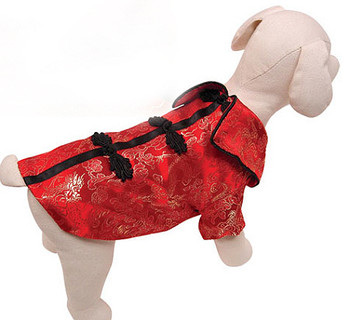 Chinese Royal Empress Satin Dog Jacket