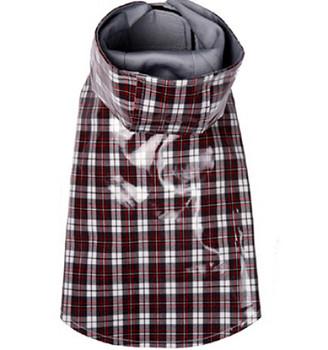 Jake Preppy Plaid Dog Raincoat