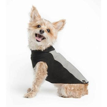 Portland Pullover Dog Wrap - Black/Silver
