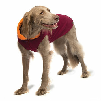 Garnet / Pumpkin Duluth Double Fleece Dog Wrap