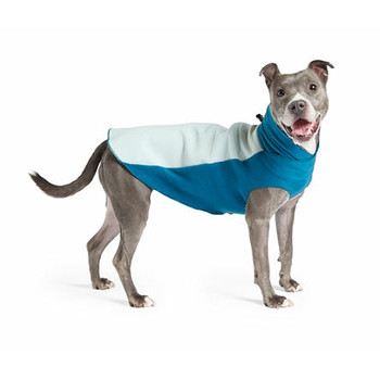 Portland Pullover Dog Wrap - Marine Blue / Glacier