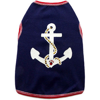 Anchors Away Dog Tank Top by I See Spot