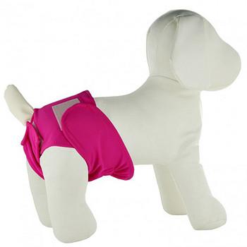 Fuchsia Dog Panties / Diaper Cover