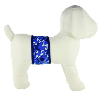 Tuga Blue Sun Protective Dog Belly Bands