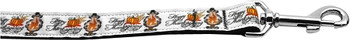 Happy Thanksgiving 1 Inch Wide 6ft Long Leash