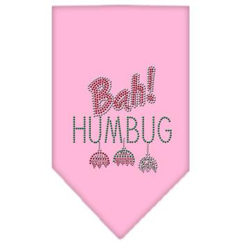 Bah Humbug Rhinestone Bandana - Light Pink - MIR-67-91 SMLPK