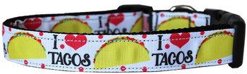 Taco Tuesday Nylon Dog & Cat Collar