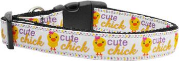 Cute Chick Nylon Dog & Cat Collar