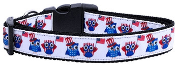 American Owls Nylon Dog & Cat Collar