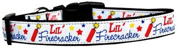 Little Firecracker Nylon Dog & Cat Collar