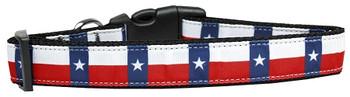 Texas Flag Nylon Dog & Cat Collar