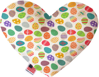 Easter Eggs Heart Dog Toy, 2 Sizes