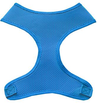 Soft Mesh Pet Harnesses - Aqua
