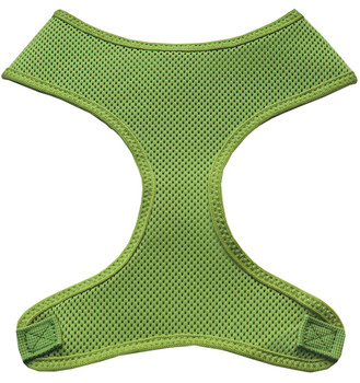 Soft Mesh Pet Harnesses - Lime Green