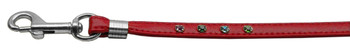 Confetti Step In Harness Red Matching Leash