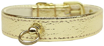 # 70 Dog Collar - Gold