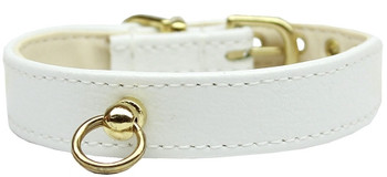 # 70 Dog Collar - White