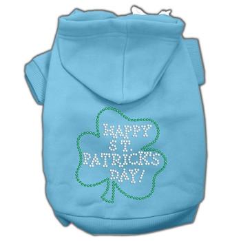 Happy St Patrick's Day Hoodies - Baby Blue