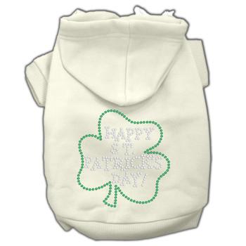Happy St Patrick's Day Hoodies - Cream