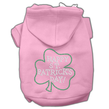 Happy St Patrick's Day Hoodies - Pink