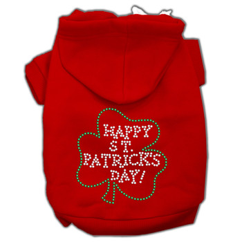 Happy St Patrick's Day Hoodies - Red