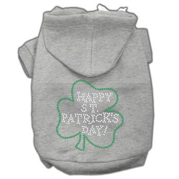 Happy St Patrick's Day Hoodies - Grey
