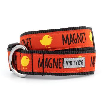 Chick Magnet Pet Dog Collar & Lead