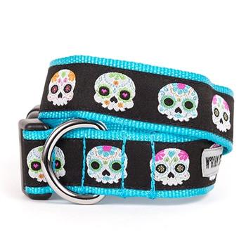 Skeletons Pet Dog Collar & Lead