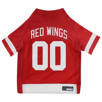 Detroit Red Wings Pet Jersey - pfdrw4006-1