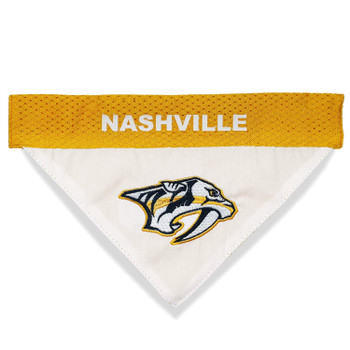Nashville Predators Pet Reversible Bandana - S/M