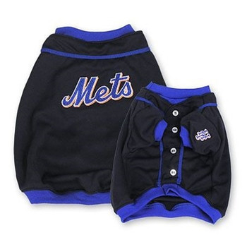 New York Mets Alternate Style Dog Jersey