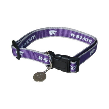 Kansas State Reflective Pet Collar