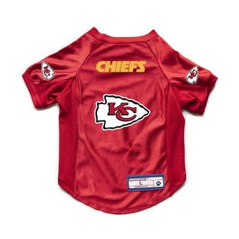 Kansas City Chiefs Pet Stretch Jersey