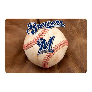 Milwaukee Brewers Pet Bowl Mat