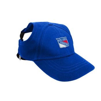 New York Rangers Pet Baseball Hat
