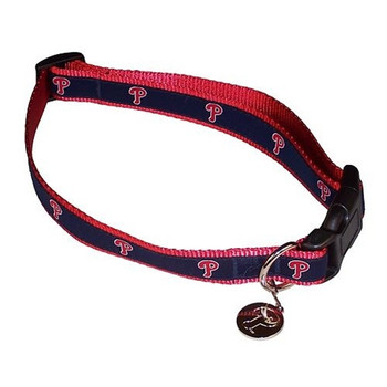 Philadelphia Phillies Alternate Style Dog Collar