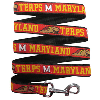 Maryland Terrapins Pet Leash by Pets First