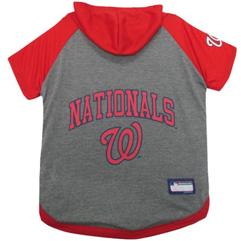 Washington Nationals Pet Hoodie T-Shirt