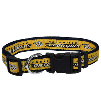Nashville Predators Pet Collar by Pets First - Medium